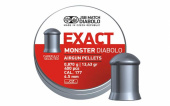 Пули 4,5 мм JSB Exact Monster Diabolo 0,87 гр. 400 шт.